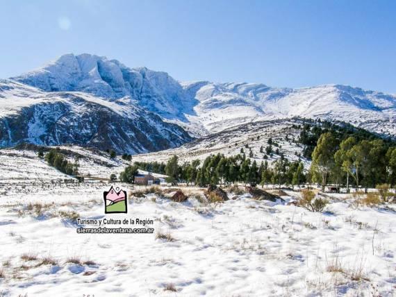 Cerro Ventana nevado.