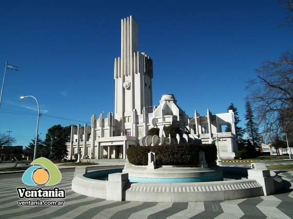 Palacio Municipal Cnel. Príngles. Art Deco.