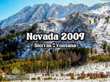 Nevada en Sierra de la Ventana