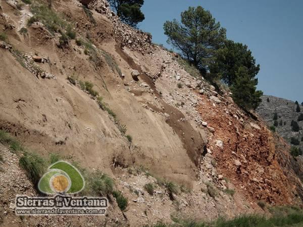 El río fosilizado del Abra de la Ventana