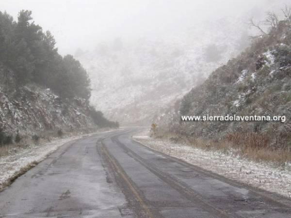 Foto de la nevada en el año 2010