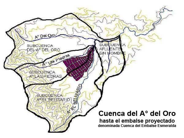 Proyecto de Embalse Esmeralda
